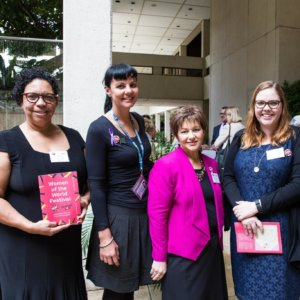 Dr Sandra Phillips, Heidi Mathieson, Laura Morgan & Zilah Douglas