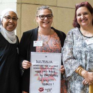 Faiza El-Higzi, Kenny Duke & Yasmin Khan