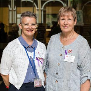 Gillian Gardiner & Leigh Tabrett