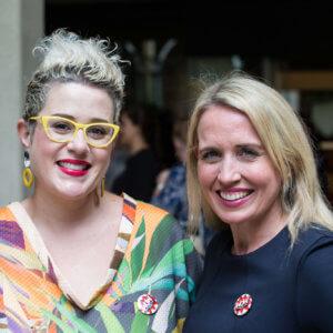 Katie Noonan & MP Kate Jones