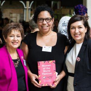Professor Bronwyn Fredericks, Dr Sandra Phillips & MP Leeanne Enoch