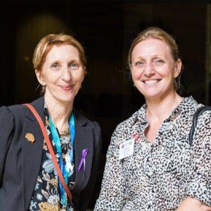 Sandra McLean & Cathy Van Extel